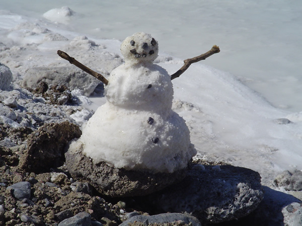 Deathe Valley Snowman